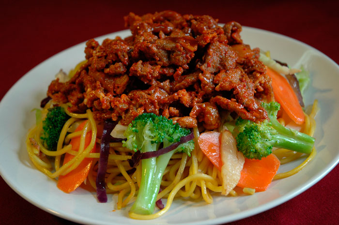 Spicy-Pork-Teriyaki-noodle