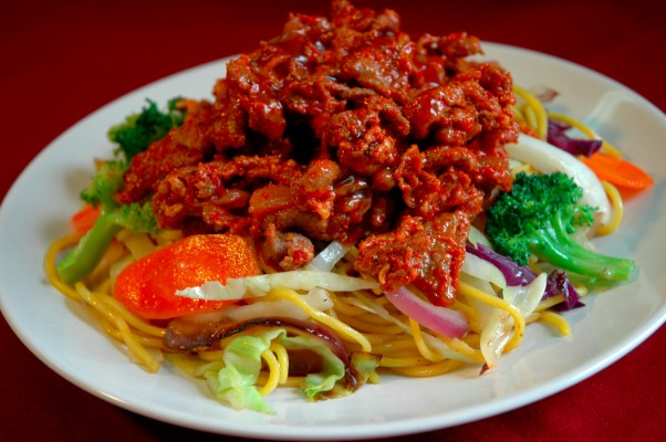 spicy-pork-teryaki-noodle