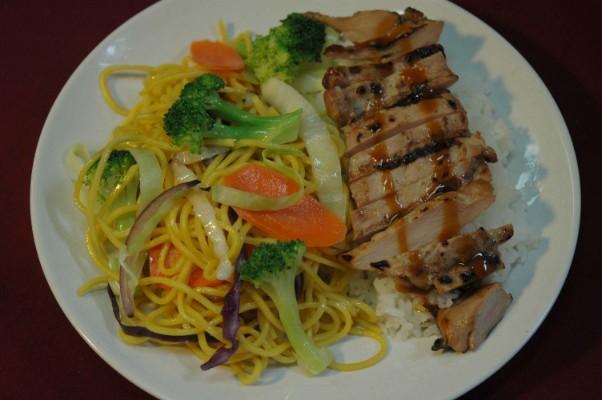 chicken-yakisoba