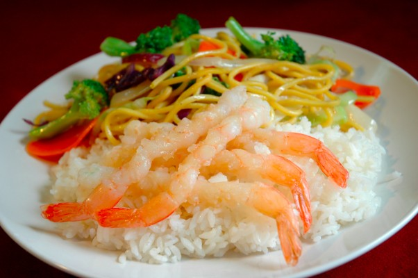 shrimp-yakisoba